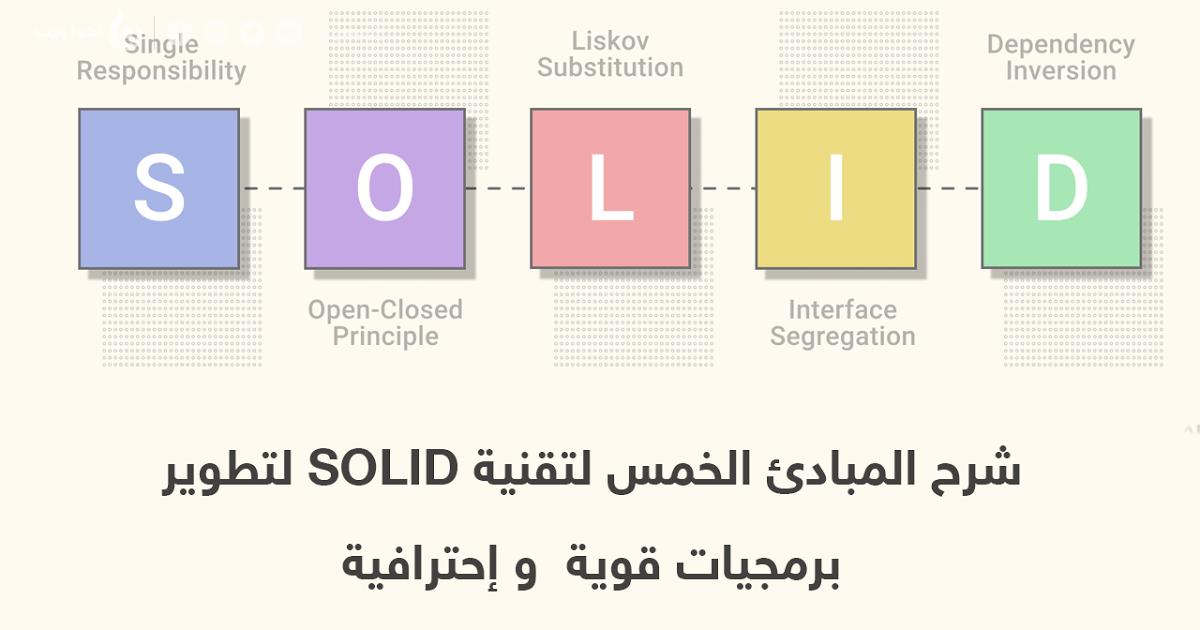 المبادئ الخمس للـ Solid لتطوير البرمجيات Inversions Interface Principles