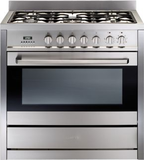 Technika TU950TME8 900mm Freestanding Gas Cooktop With Electric Oven