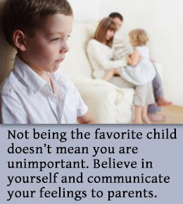 How To Deal With Parental Favoritism Things Kids Should Know