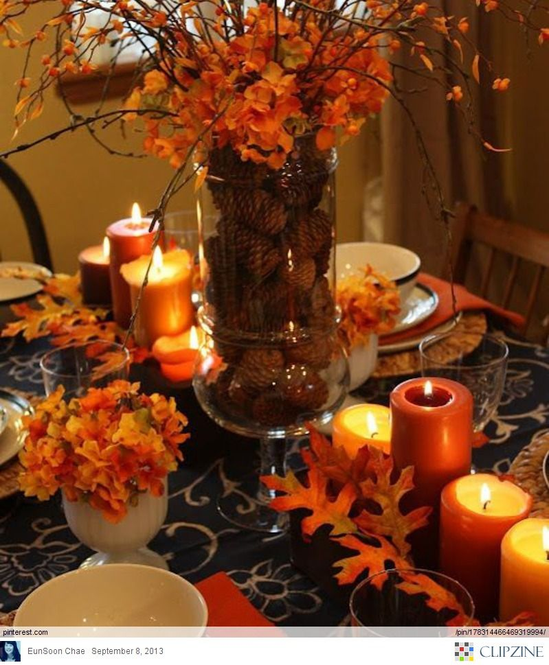 Lovely Fall Tablescapes Cool Ideas For Home Decoration