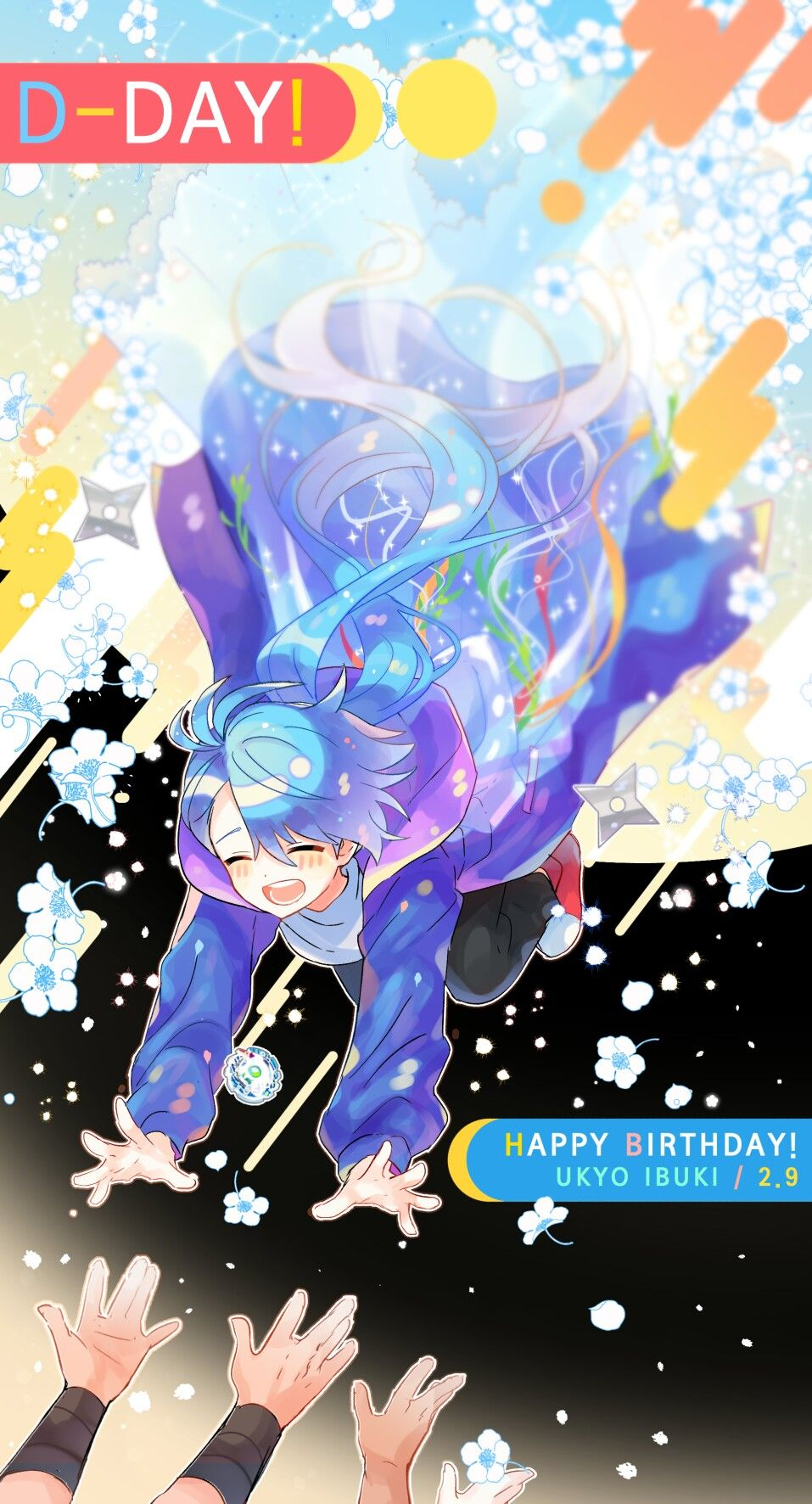 Happy birthday ukyo ibuki carta