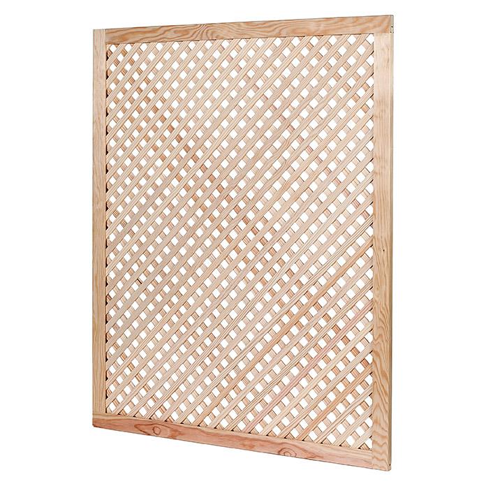 Holzgitterpaneel 1 070 X 850 X 10 Mm Kiefer Paneele Deckenverkleidung Gitter