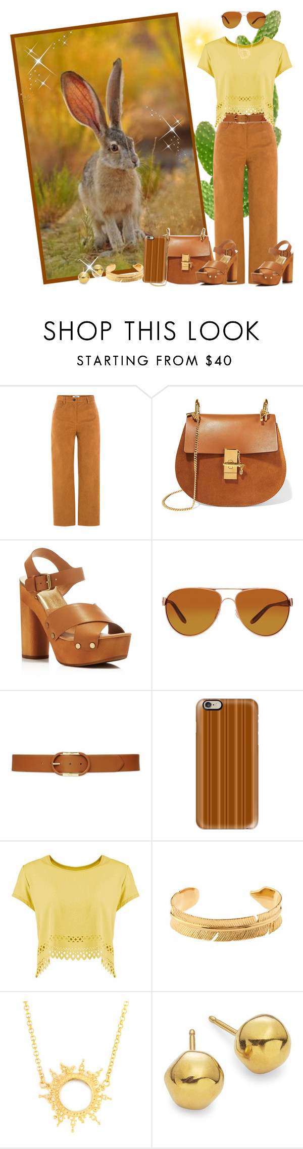 """This Hare can Hear a Pin Drop!"" by krusie ❤ liked on Polyvore featuring MSGM, Chloé, Dolce Vita, Oakley, Lauren Ralph Lauren, Casetify, Marte Frisnes, Annabelle Lucilla Jewellery and Uno de 50"