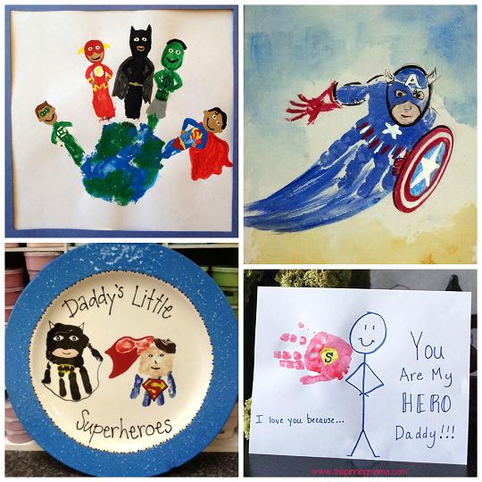 Amazing Superhero Handprint Crafts For Kids Crafty