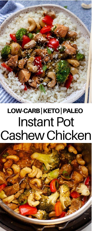 Instant Pot Cashew Chicken (Keto, Paleo, Whole30)   Recipe ...