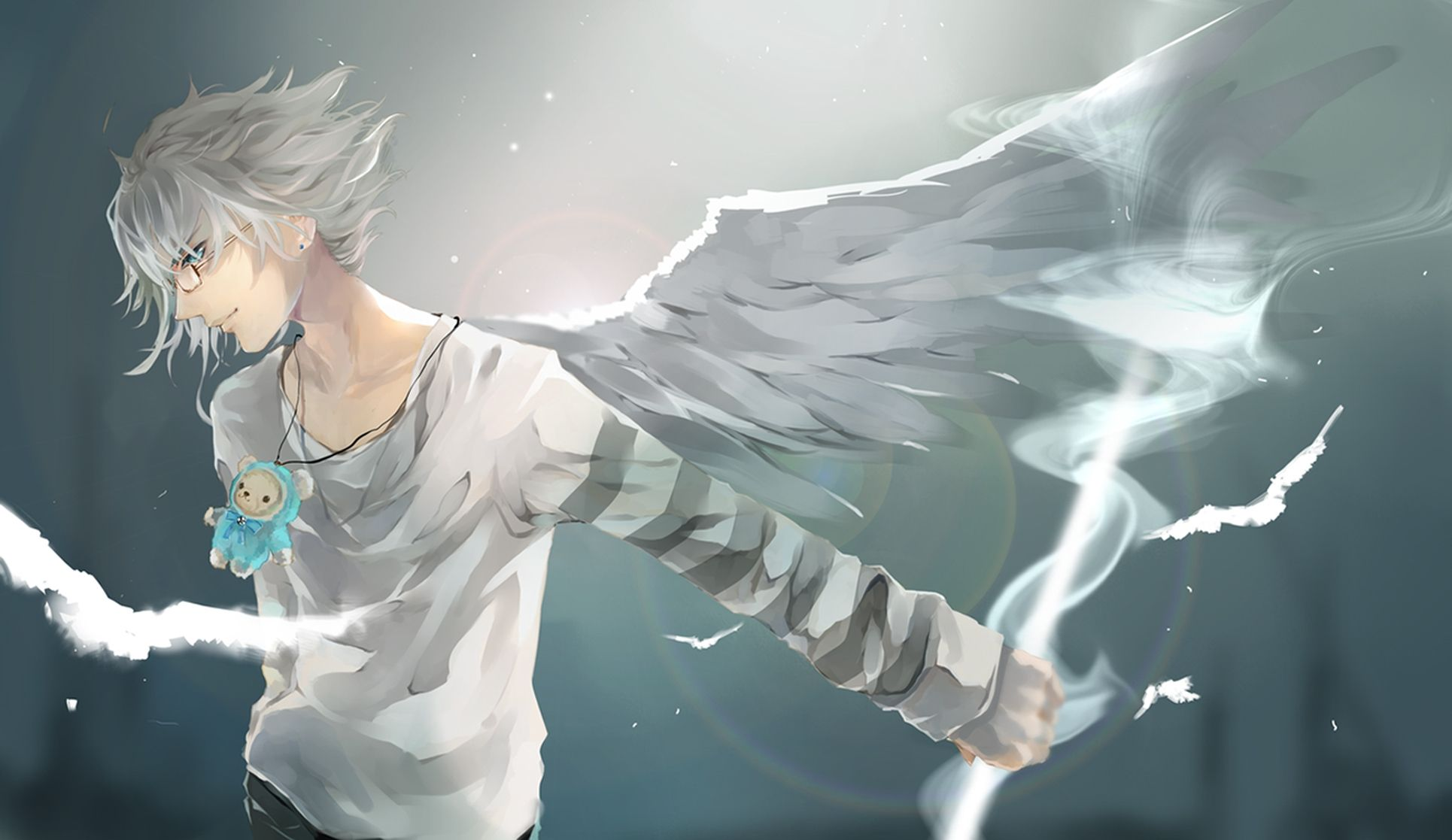Anime Boy Wings Wallpaper Photo And Images Http Bit Ly 2tvqu8u Anime Wallpaper 1920x1080 Wings Wallpaper Cool Anime Wallpapers