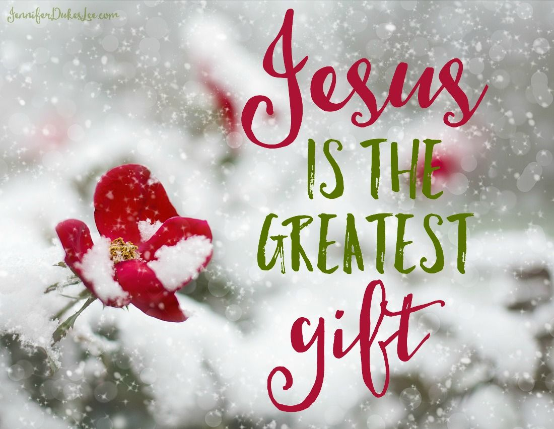 The greatest gift jesus encouraging truths pinterest gift the greatest gift jesus christmas teamerry christmashappy birthday kristyandbryce Images