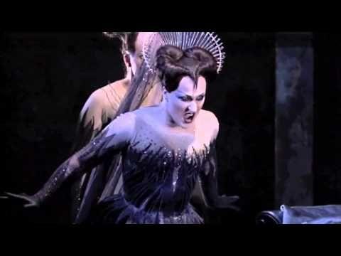 Mozart - La Flauta Mágica - La Reina de la Noche. Der Hölle Rache - Damrau - Subtítulos Español