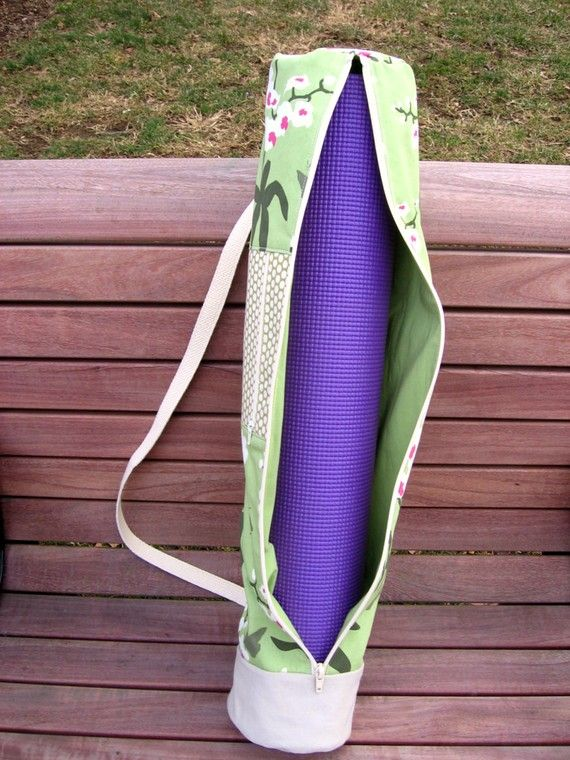 Yoga Mat Bag PDF Sewing Pattern   Pinterest   Diy tasche, Nähen und ...