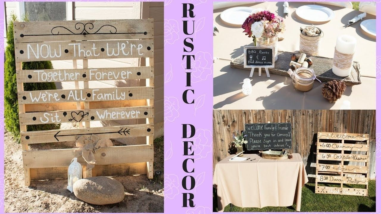 Diy rustic wedding decor on a budget centerpieces outstanding