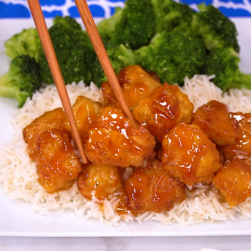 Sweet and Sour Chicken #chineseorangechicken
