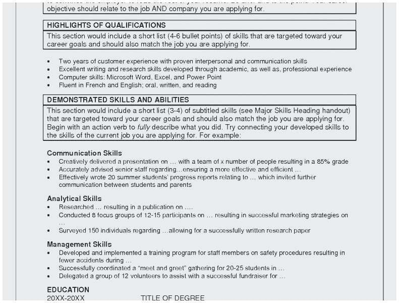 26 Job Related Skills Examples Cover Letter Templates