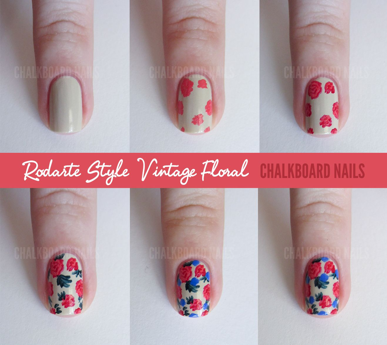 Chalkboard Nails Sally Hansen X Rodarte Tie Dye And Fl Mix Tutorial Nail Art Iheartnailart Mcwilliam