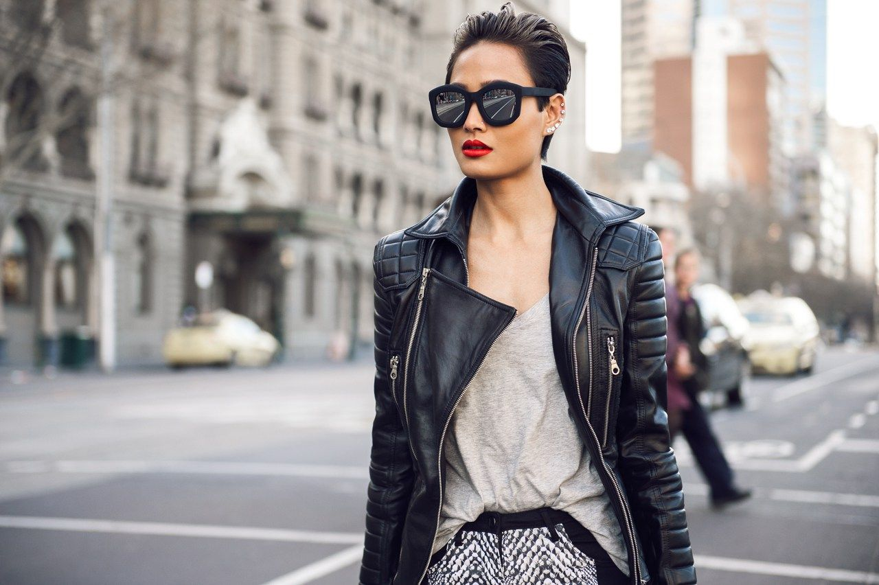 Fashion Style Women : Micah Gianneli Top Fashion Style Beauty Blogger Rihanna Riri Sty