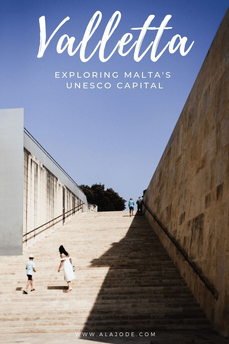 Valletta, Malta: Exploring the Maltese capital. Get to know the UNESCO World Heritage Site and thae smallest capital city in the European Union through this Valletta Malta photography story. These photos of Valletta will make you want to add Malta to your travel bucket list! #malta #valletta #vallettamalta #travel #travelphotography #europetravel