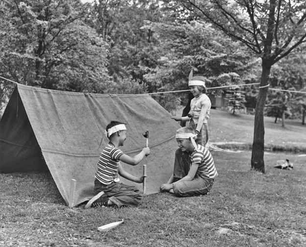 14 Glorious Vintage Summer Camp Photos Camping Photo Tent