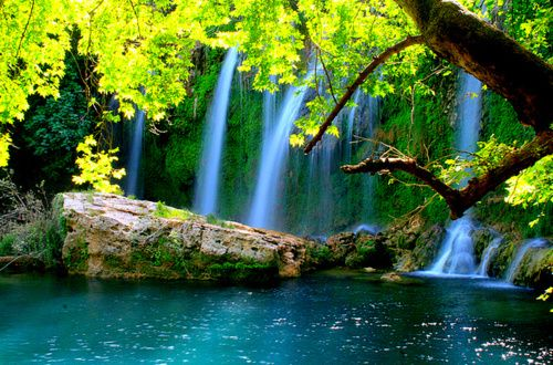 Waterfall Lake, Antalya, Turkey