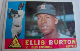 I Will Sell My 1960 Ellis Burton Topps 446 For 200 1960