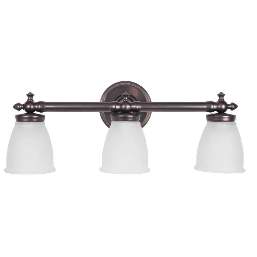 Bathroom Light Fixtures Victorian delta victorian 3-light oil rubbed bronze vanity light | light
