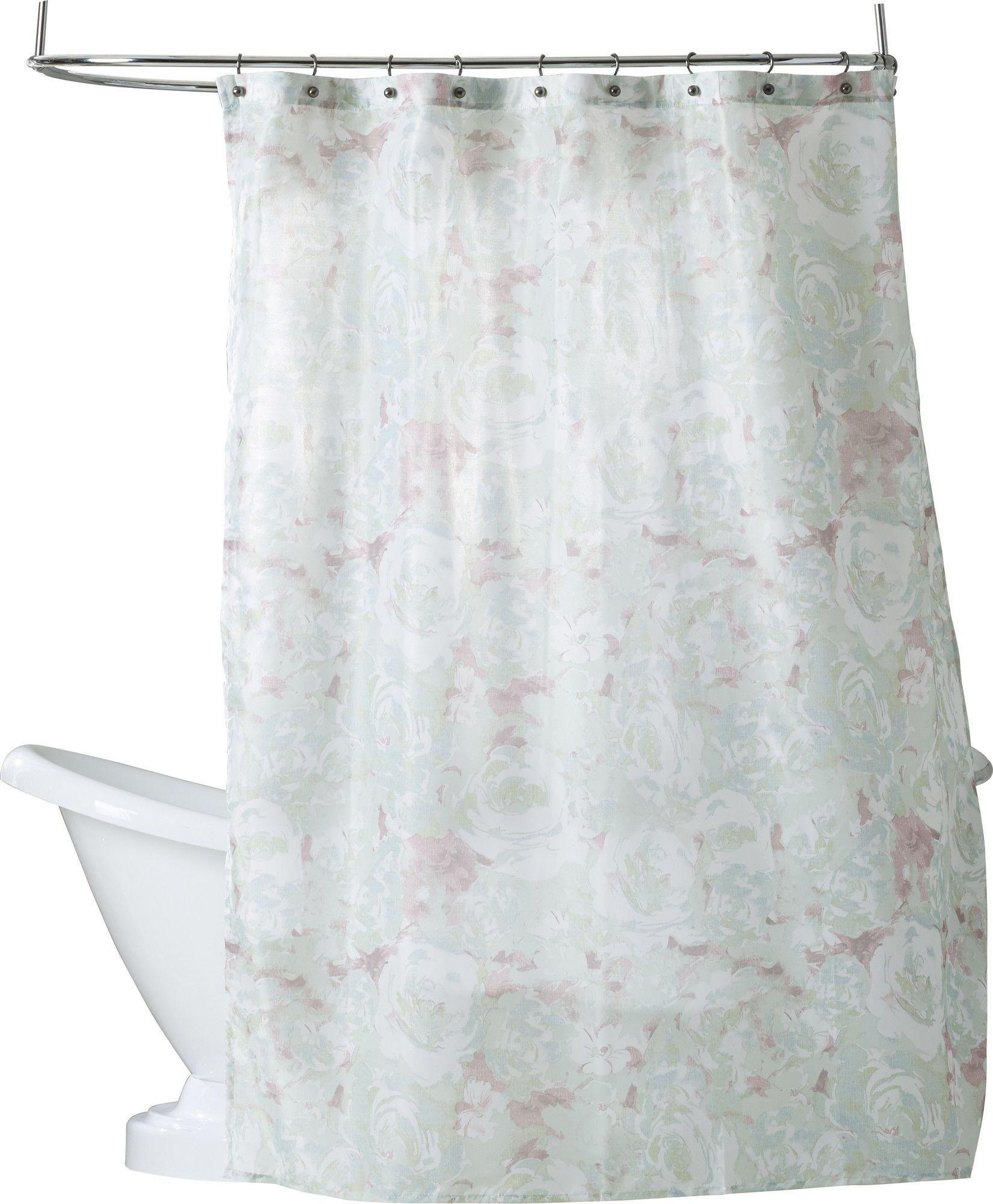 Murphey Polyester Shower Curtain Set