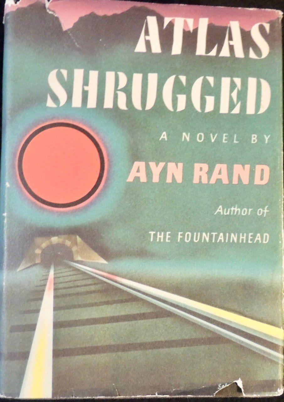 1957 Atlas Shrugged Ayn Rand Twenty Fifth Printing