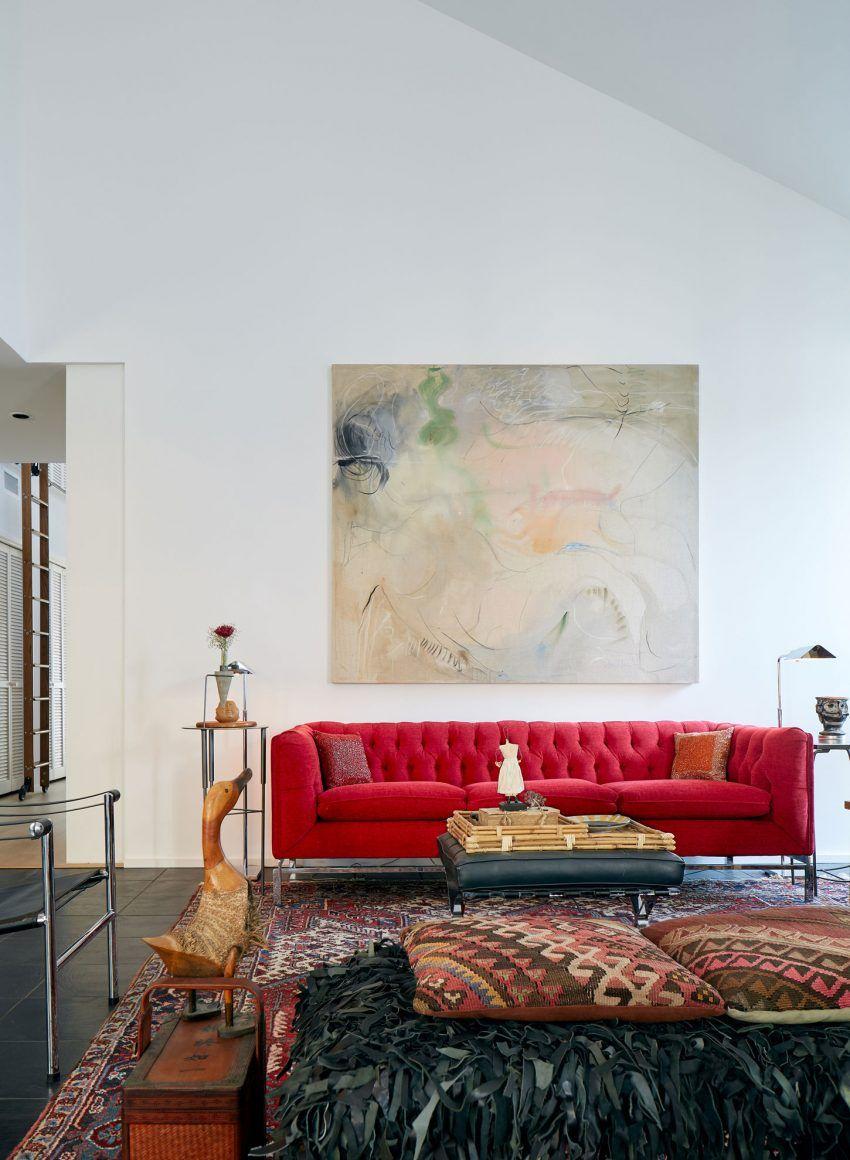 A Home for a Retired Couple in San Marcos, Texas | Salón, Interiores ...
