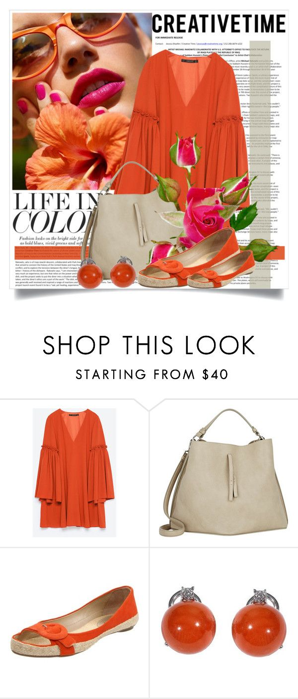 """""""Life In Color"""" by queenrachietemplateaddict ❤ liked on Polyvore featuring Avenue, Zara, Maison Margiela, Klub Nico, women's clothing, women, female, woman, misses and juniors"""