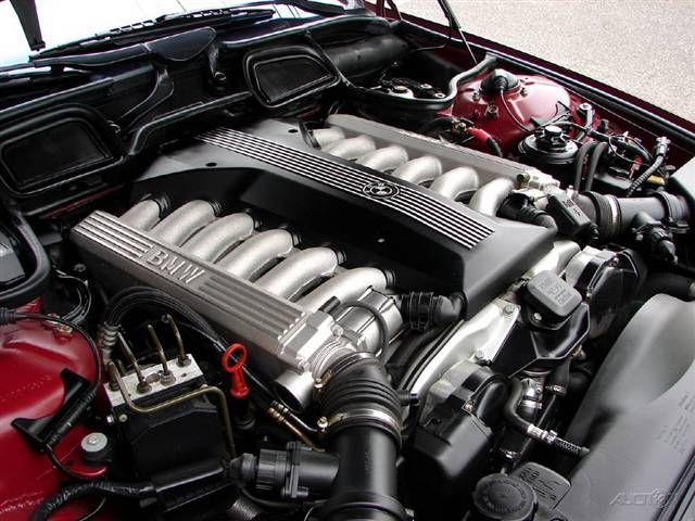 bmw e38 750il V12 engine Bmw v12, Bmw, Bmw e38