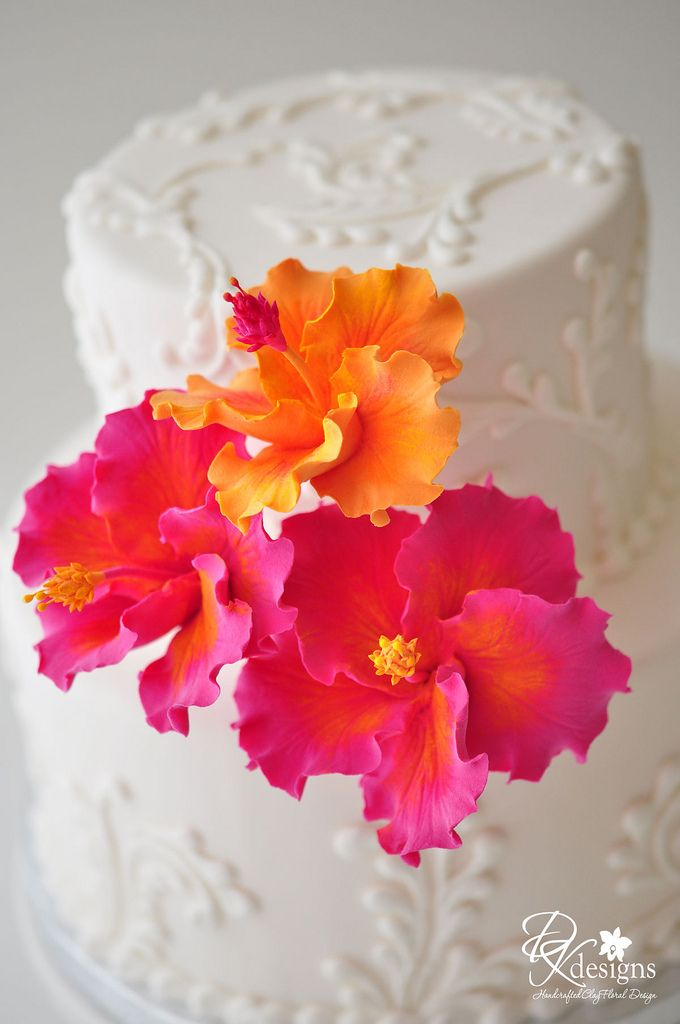 Pin By Regina Rymer On Orange Pink Wedding Cakes Cupcake