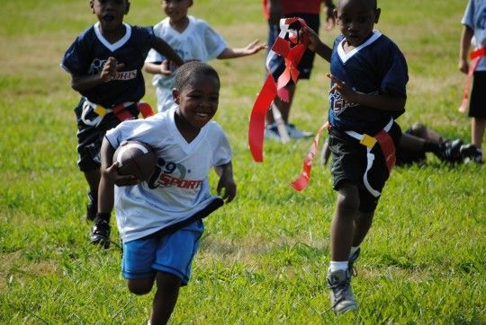 Flag Football Saturday With Images Sports Flag Football Kids Events