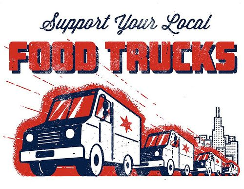 Support Your Local Food Trucks By Knowyourflag Chicago
