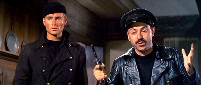 John Phillip Law And Alan Arkin In The Russians Are Coming The