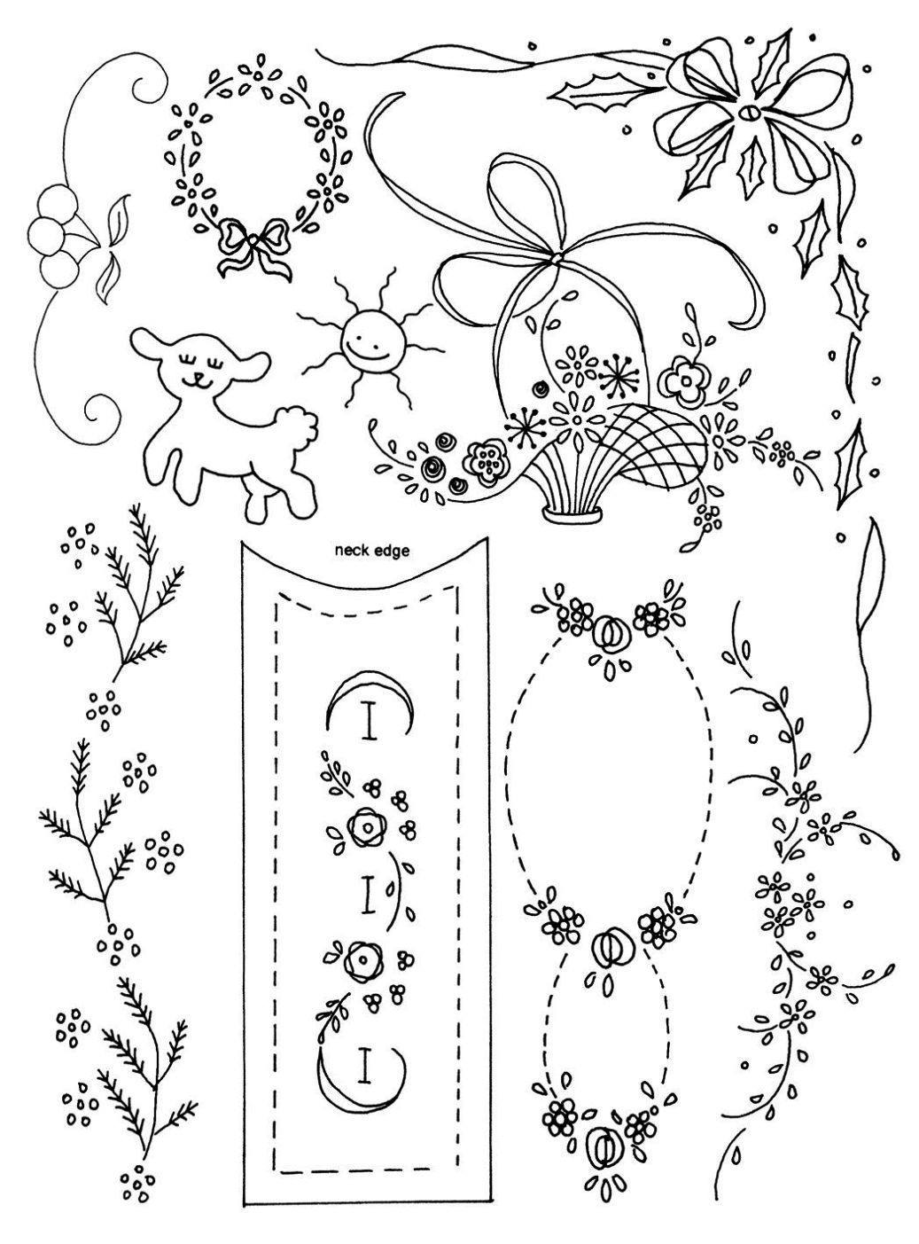 Classic embroidery designs set one is a collection of over