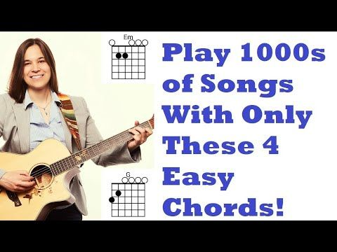 FIRST Guitar Chords You NEED To Learn - Easiest Beginner ...