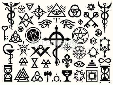 Signos Simbolos Satanicos No A La Idolatria Pinterest