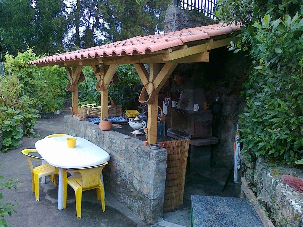 Aluguer de casa r stica para f rias em vila praia de for Casa del barbecue