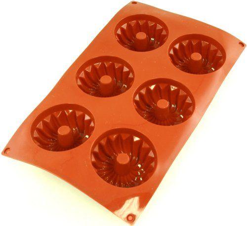 Paderno World Cuisine Non-Stick Tinned-Steel Brioche Mold