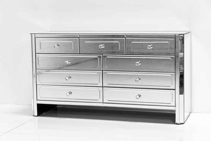 Dsc 9062 Jpg 700 468 Pixels Mirrored Furniture 9 Drawer Dresser Dresser With Mirror