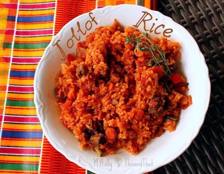 Traditional Jollof Rice | HungryLittleGirl | West African ...
