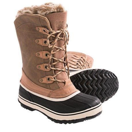 7ee6266e100 Kodiak Kyra Pac Boots - Waterproof (For Women) in Brown