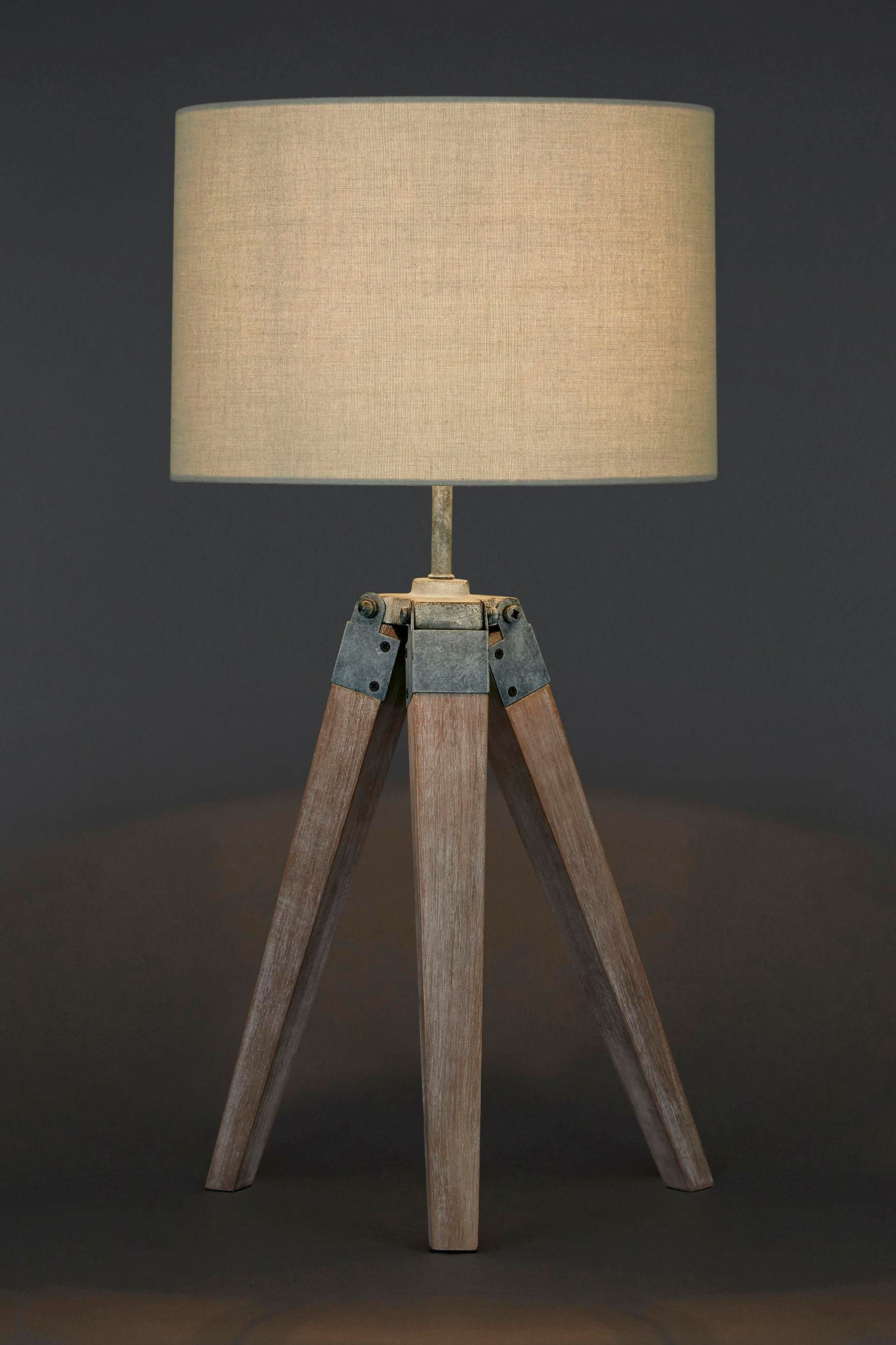Buy wooden tripod table lamp from the next uk online shop living buy wooden tripod table lamp from the next uk online shop geotapseo Image collections