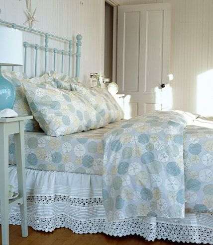 Ll Bean Sand Dollar Duvet Cover So Pretty In Person And