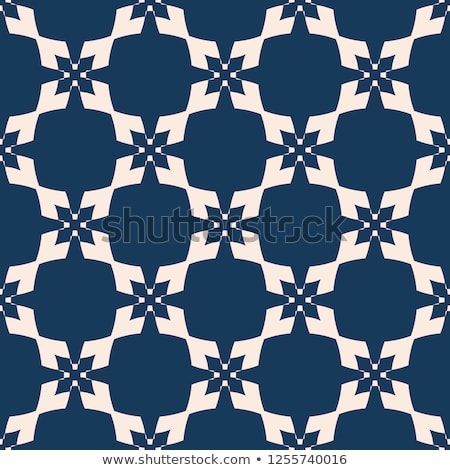 Vector abstract deep blue and beige texture with diamond shapes crosses also geometric seamless pattern rh pinterest