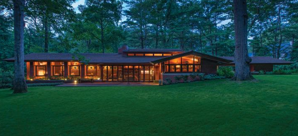 Zimmerman House in Manchester (NH)  Frank Lloyd Wright