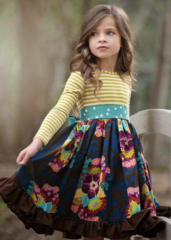Модные детские платья на ЛЕТО 2018 для девочек: 100 ...