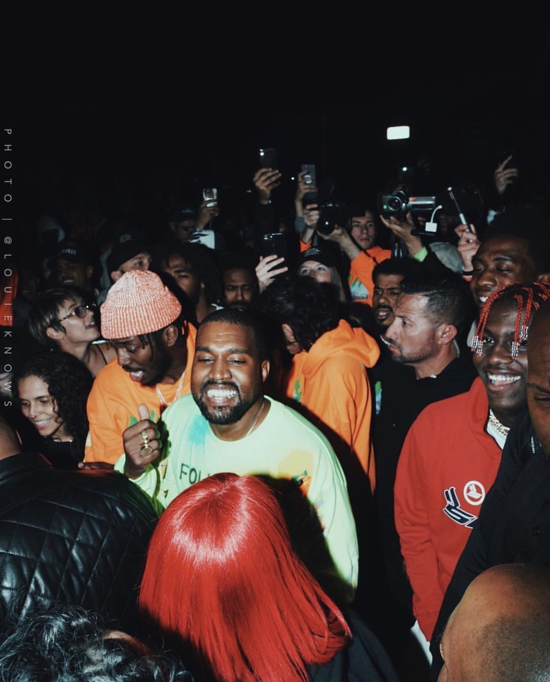 Check out the run of merch for Kanye West's ye listening