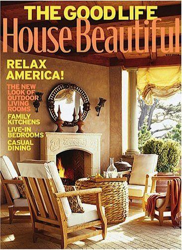 House Beautiful Magazine: 1 year for 4.99! ~ at TheFrugalGirls.com #design