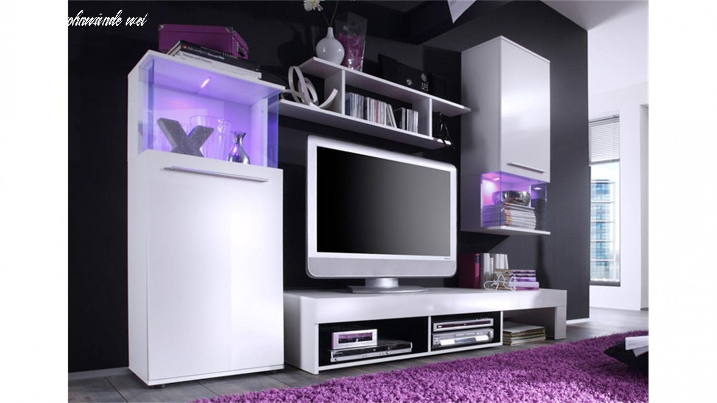 Günstige Anbauwand  Home innovation glanzlack wohnwand wohnzimmer