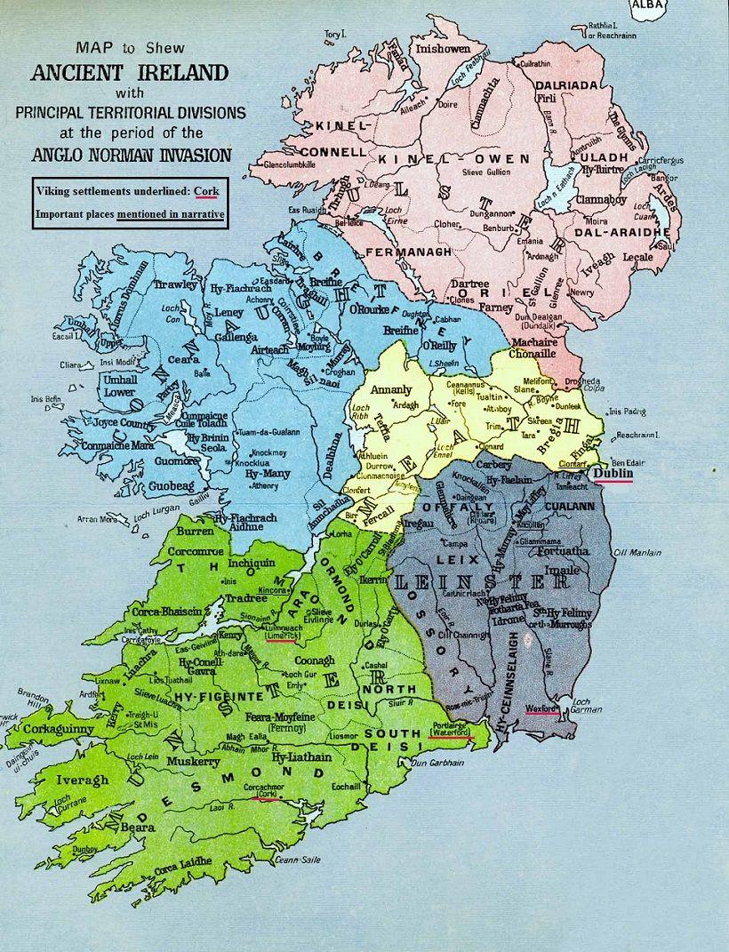 Map Of Ireland Vikings.Ancient Ireland Map Viking Settlements Irish Music History