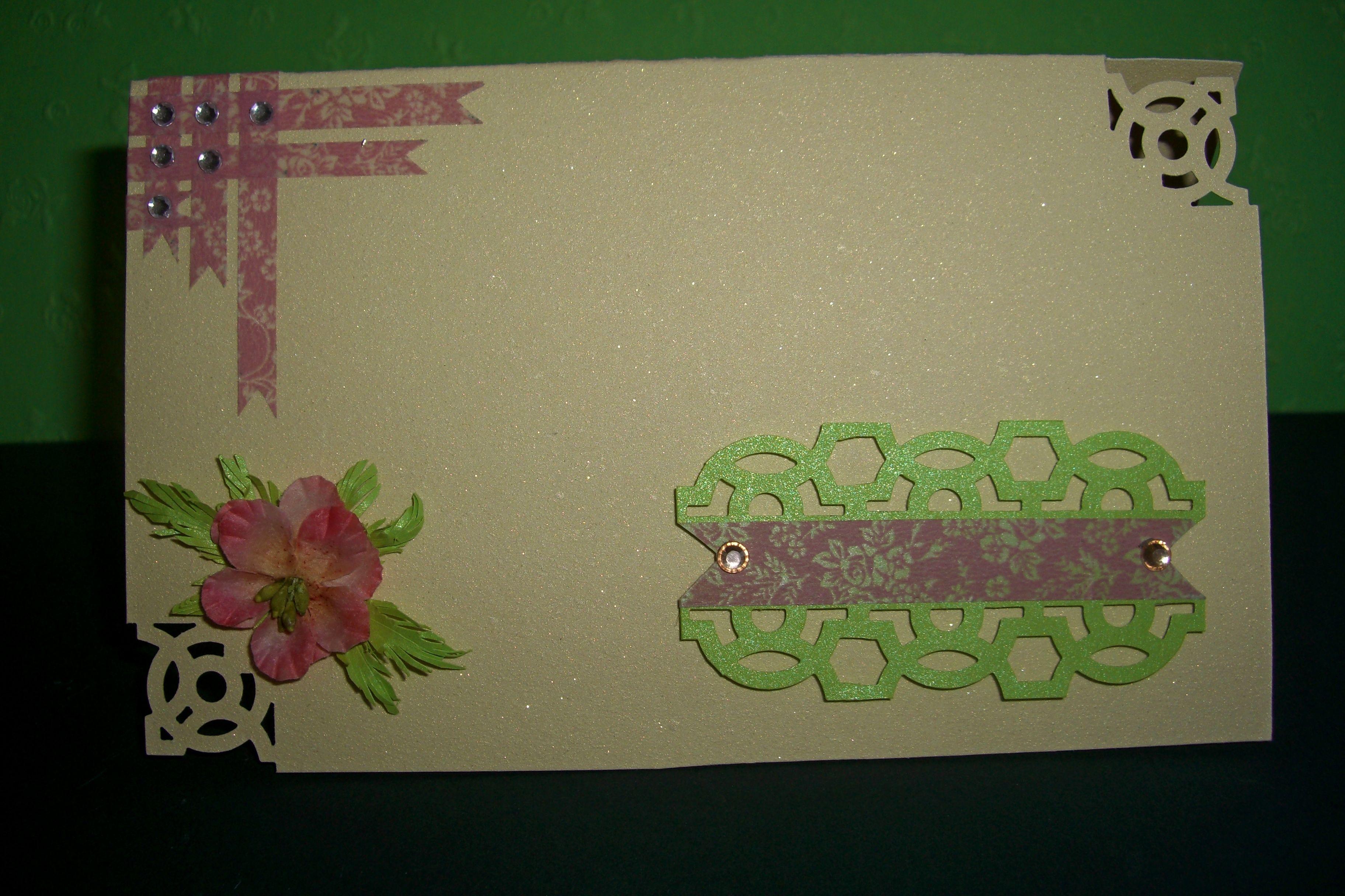 такие открытки своими руками фигурными дыроколами подходит ученикам уровнем